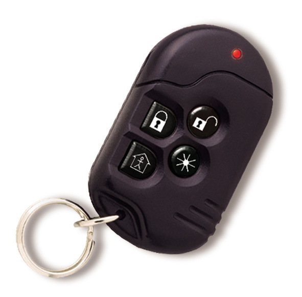 Risco Agility keyfob with integral personal attack button