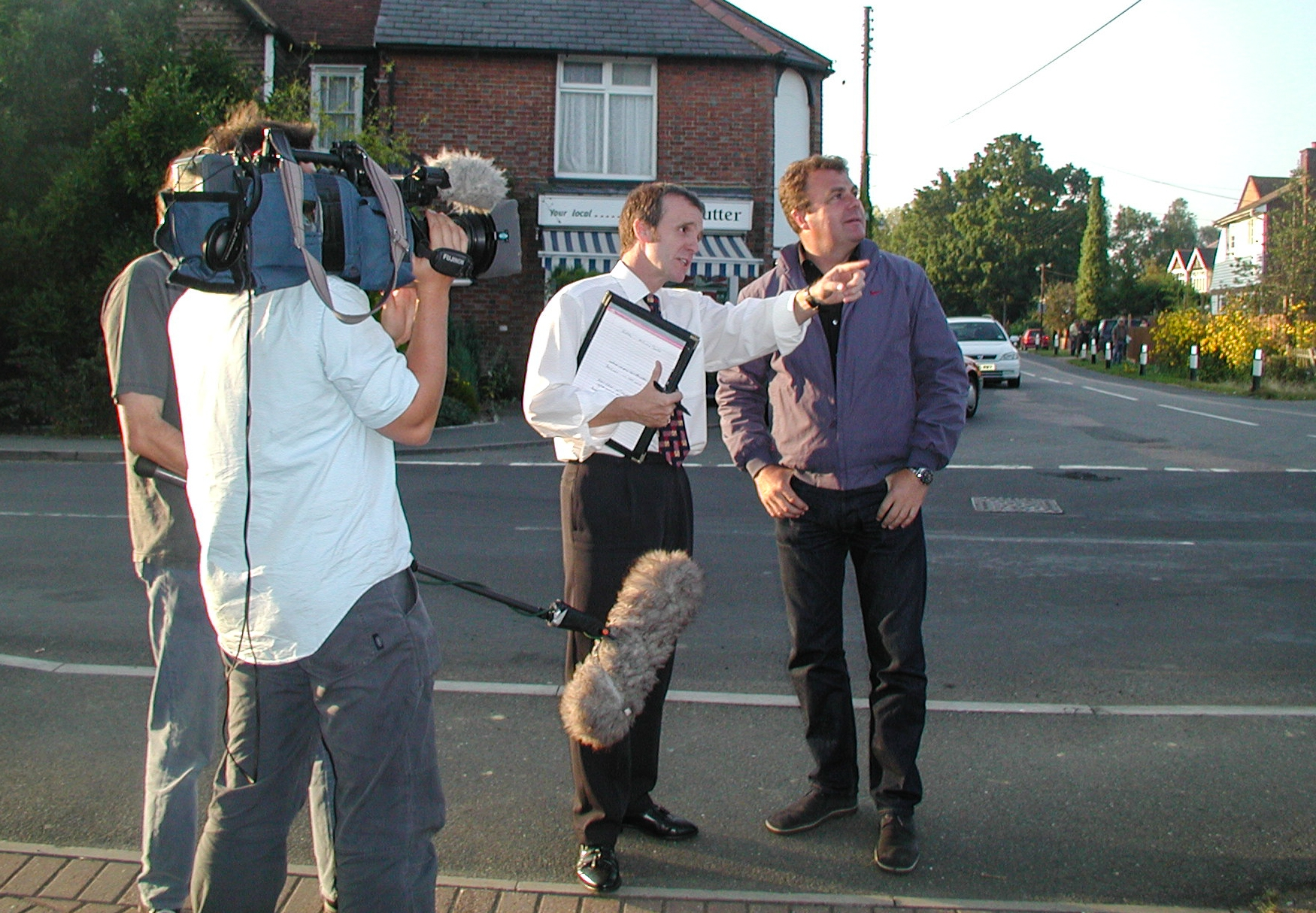 Filming BBC Inside Out 2