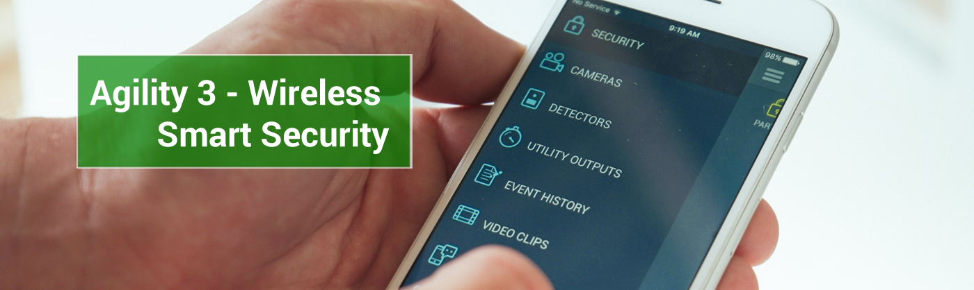 Agility 3 wireless security system
