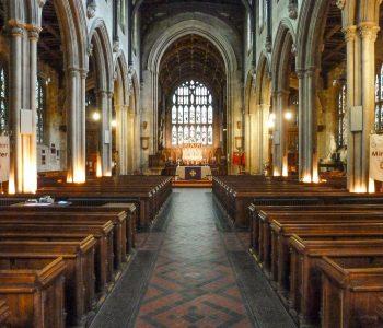 Croydon Minster - the nave